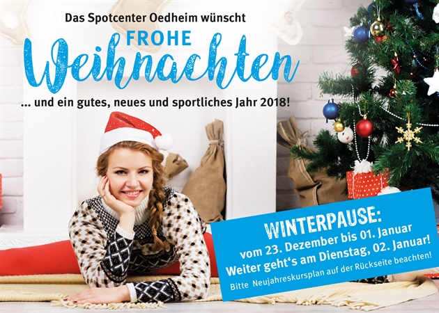 Winterpause 2017 Sportcenter Oedheim